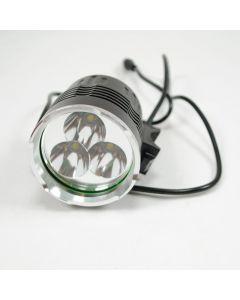 SKY RAY 3T6 kolo lehký 3xCree XM-L T6 3800 lumenů 4 režimy LED kolo světla
