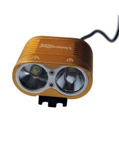UniqueFire HD-016 2 * Cree XM-L2 4 režimy 1800 lumen LED Bike lehké kolo přední světla Glod
