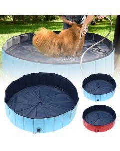 Psí bazén skládací pes bazén pet vana koupaliště vana vana pet bazén skládací koupaliště pro psy kočky děti