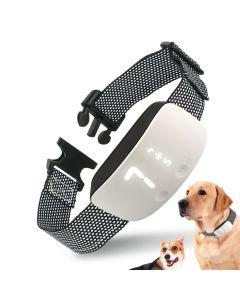 NEW Touch 7 Level Screen Dog Bark Shock Training Collar Waterproof Dobíjecí Statický šok Proti výcviku psa bez kůry