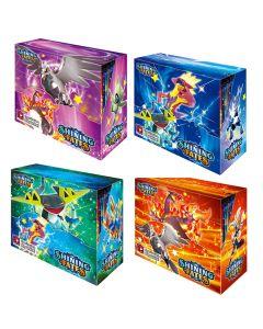 2021 NOVÉ 4x360ks Pokémon TCG: Zářící osudy Booster Box Trading Card Game Collection Hračky