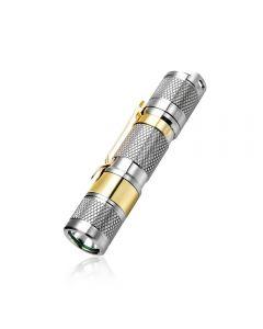 Lumintop TOOL AA2.0 Titanium XP-L HD LED max 650 lumen beam distance 7 Meter AA/14500 EDC Baterka