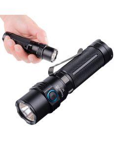 TrustFire MC3 CREE XHP50 2500 Lumens LED svítilna USB magnetická nabíjecí svítilna 21700 dobíjecí světlo IP68 vodotěsné EDC ruční lampa pracovní světla
