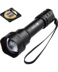 UltraFire T20 10W  baterka 850nm 940nm Noční vidění zoomable  LED svítilna