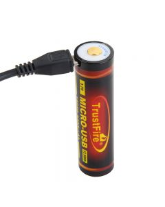TrustFire 18650 3400mAh 3,7 V Micro USB nabíjecí lithium-ion baterie