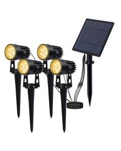 Solární Reflektor Solární panely Venkovní osvětlení Krajina Garden Tree Samostatně Lampa