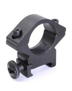 Držák baterky optický držák 25,4 mm nízkoprofilový rozsah kroužek hole-mount držáky hořáku vhodné pro 20mm Weaver rails