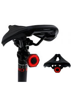 Smart Kolo Zadní světlo Zadní světlo Auto Start Stop brzda IPX6 Vodotěsný USB poplatek cyklistika Ocas Taillight Bike LED světla
