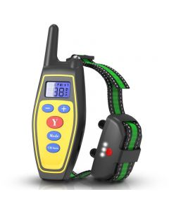 2020 NOVÉ 400m Elektrické Auto Výcvik psů Obojky vodotěsné dobíjecí psí obojek s dálkovým ovládáním přijímače Pet training