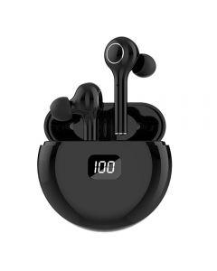 TWS Bluetooth 5.0 Sluchátka 400mAh Nabíjecí box Bezdrátová sluchátka 9D Stereo Sportovní vodotěsné sluchátka sluchátka s mikrofonem