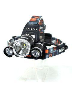 3T6 světlometů 3000 lumenů vysoce výkonnými LED reflektor Boruit 3xCREE XM-L T6 4 režim světlomet světlo jednotka pouze