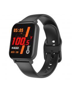 Chytré hodinky F25 Body Temperature Smart hodinky Sportovní náramek Podpora srdeční frekvence krevní tlak krevní kyslík