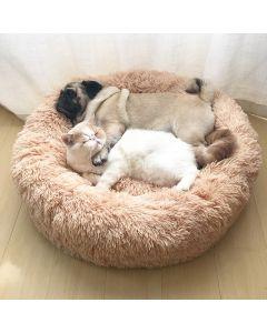 Round Cat Bed House Soft Long Plyš nejlepší Pet Dog Bed pro psy košík pet produkty polštář kočka pet postel mat kočka dům zvířata pohovka