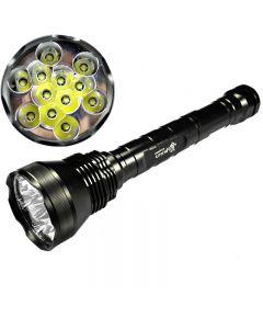 Ultrafire 12T6 Cree XM-L T6 13800 Lumen 5-Mode vysoce výkonná LED svítilna