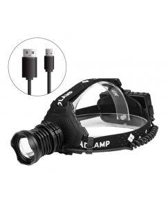 Most Powerful XHP70 Led Headlamp 8000LM Head lamp USB Rechargeable Headlight Waterproof Zoom Fishing Light Use 18650 Battery