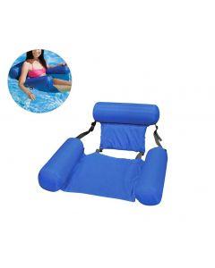 Letní nafukovací plovoucí řada vodní houpací síť nafukovací nafukovací matrace bazén pláž plovoucí spací polštář postelová židle