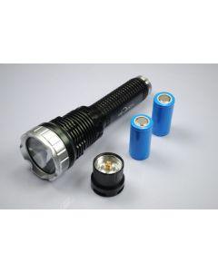 TrustFire TR-J10 Liminus SST-90 5-Mode LED svítilna s baterií, nabíječkou a krabičky