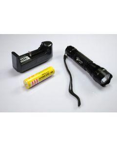 UltraFire WF-501B XML U2 LED svítilna 18650 Baterie nabíječka