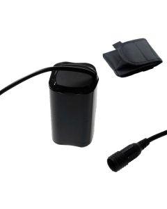 Šroub pevné rozhraní 8.4V 4 x 18650 4800mAh kolo lehké baterie pro LED světlo jízdního kola