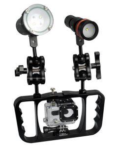NOVÉ ARCHON Z08 potápění baterku Gopro lampa Arm fotografie závorka Gopro /Camera závorka baterku závorka