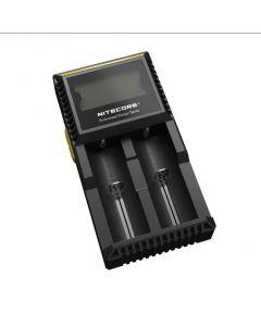 Nové Nitecore D2 Digcharger nabíječka LCD displej Nitecore nabíječka baterií pro 26650 18650 18350 16340 14500 10440