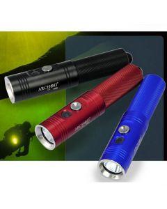Professional ARCHON V10S potápění pochodeň / 1 * CREE XM-L U2 LED 860 lumenů 3 režimy potápění světlo baterky (1 * 18650, nezahrnuje)