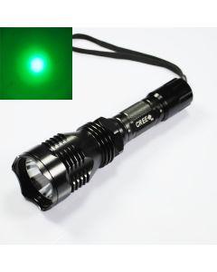 UniqueFire HS-802 Cree Zelené světlo Led baterka dlouhého dosahu