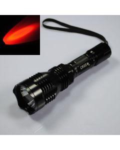UniqueFire HS-802 Cree Červené světlo Led baterka dlouhého dosahu