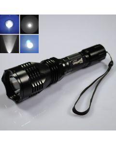 UniqueFire HS-802 krí modré světlo dlouho pohybovat Led svítilna